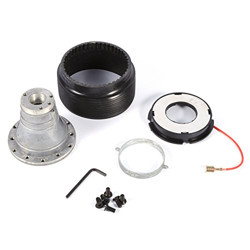 6 Hole Steering Wheel Hub Adapter, Keenso Auto Car Steering Wheel Racing Quick Release Hub Adapter Boss Kit