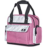 Sophie Diaper Bag – Water-Resistant Baby Diaper Bag Backpack – Insulated Pouches, Wipes Pocket, Stroller Straps – 5-Way Large Diaper Bag + Free Portable Changing Pad by Baby Benjamin, Pink