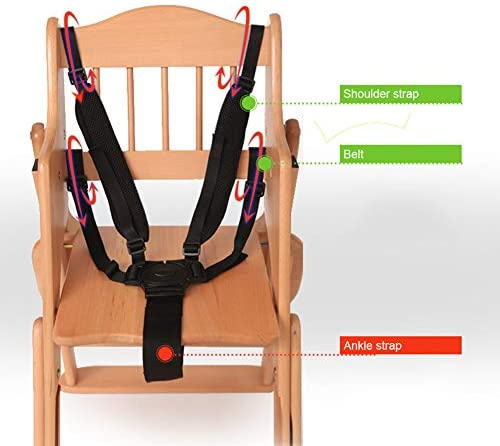 Cinturón de arnés universal para bebé de 5 puntos con arnés de ...