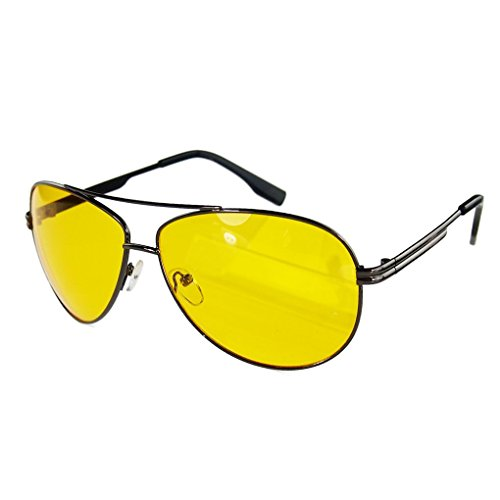 M-Egal Classic HD Night Driving Glasses Polarized Anti-glare Rain Day Night Vision Sunglasses For Driving Eyes - Eye Womens Wear