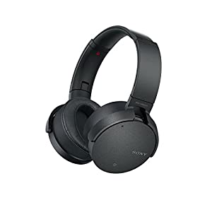 Sony MDR-XB950N1B Wireless Noise Cancelling Extra Bass Headphones – Black (International Version) …