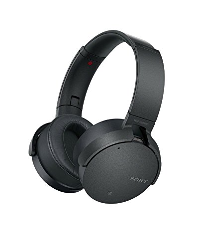 Sony MDR-XB950N1B Wireless Noise Cancelling Extra Bass Headphones - Black (International Version) ...