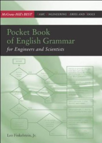 Pocket Book of English Grammar for Engineers and Scientists (McGraw-Hill Engineering Best)