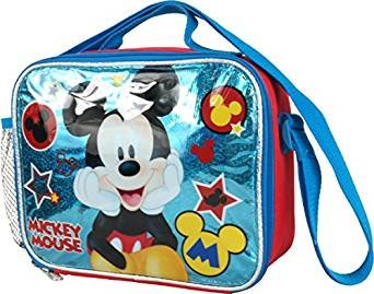 Disney Mickey Mouse Soft Lunch Kit Bag