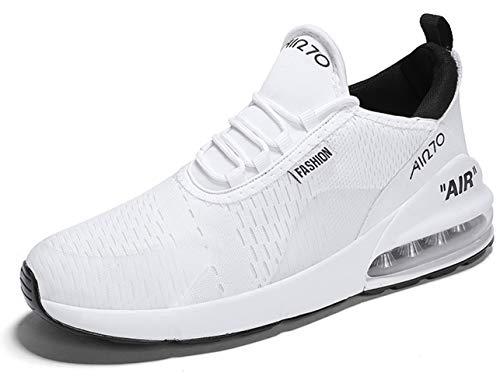 Gjrrx Scarpe Uomo Unisex Sportive Casual Da All'aperto Ginnastica 35 Interior Basse Corsa Bianco 270 47 Fitness Sneakers Donna Running 5tqtxnr