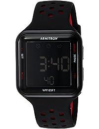 Armitron 408417BRD Reloj Análogo para Hombre, color Negro