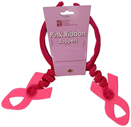 Beistle 60588 Pink Ribbon Boppers