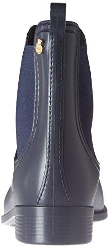 Citroengelei Damen Splash Chelsea Boots Blau (metaal Blauw Mate)