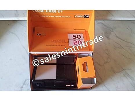 EURO-OK detector de billetes falsos (el verdadero original, no una falsificación!): Amazon.es: Electrónica