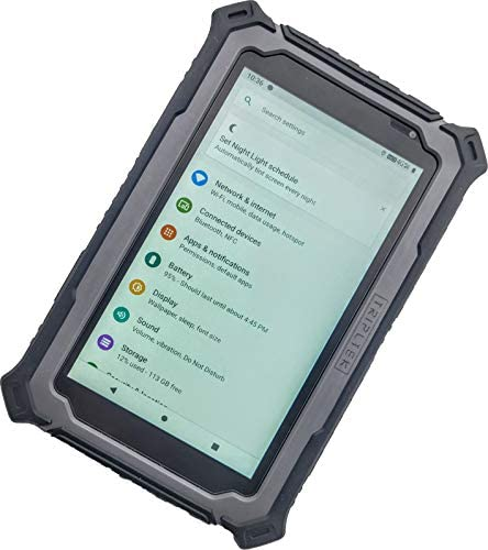 """TRIPLTEK Tablet 7"""" PRO 8GB RAM High Brightness 1200 nits, 4G LTE Unlocked, 8 Core Processor 128GB, Android 9, Long Battery Life 10000mah, Rugged Military Construction, Brightest Tablet on The Market."""