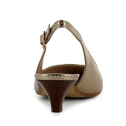 Col Donna Shoes Scarpe Gold Lia Tacco Evita qTztO