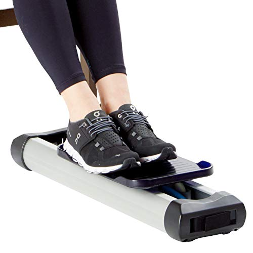 Portable Under Desk Leg Trainer - Tired of Bumping Your Knees Against The Desk While Exercising? LPET is The Solution to Your Problem - Tone Your Leg Muscles, Burn Calories, - Skate Exerciser