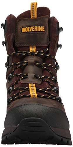 Wolverine Mens Contractor LX WPF Soft-Toe Construction Boot Dark Coffee gzNLg5