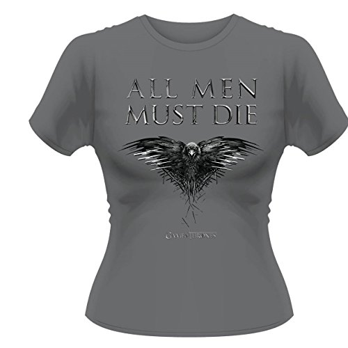 Plastic Head Game Of Thrones All Men Must Die GTS-T-shirt, Donna Grau