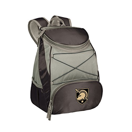 PICNIC TIME NCAA Army-US Military Academy PTX Insulated Backpack Cooler, Black