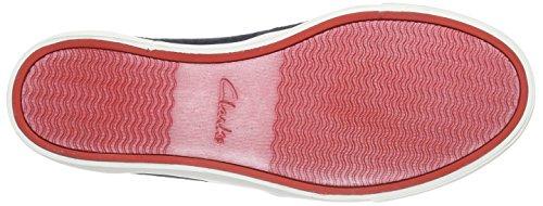 Clarks Torbay Craft, Herren Sneakers, Blau (NAVY SUEDE), 43 EU