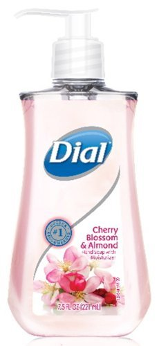 Dial Liquid Hand Soap, Cherry Blossom and Almond, 7.5 Ounce (Pack of 6) (Dial Cherry Almond Soap compare prices)