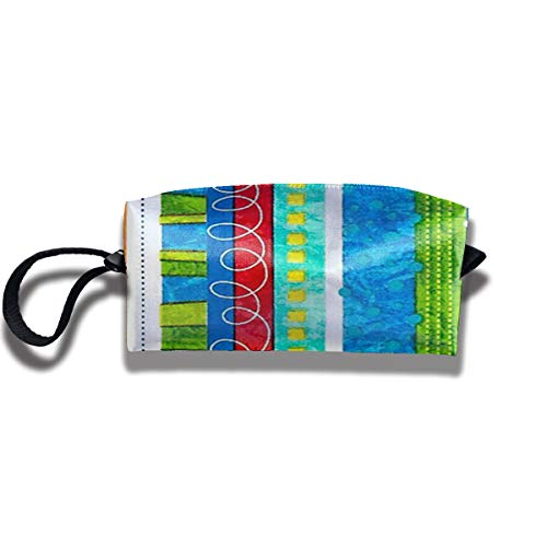 Yitlon8 Bug's Life Funky Stripe Coin Pouch Pen Holder Clutch Wristlet Wallets Purse Portable Storage Case Cosmetic Bags Zipper