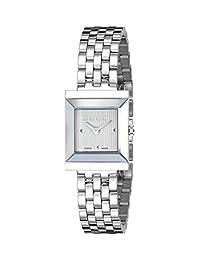 "Gucci Women's YA128402 ""G Frame"" Stainless Steel Watch"
