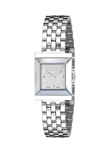 Gucci G Frame Stainless Steel Women s Watch Model YA128402