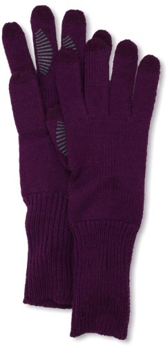 U|R  Women's Long Cuff Knit Glove, Majestic Purple, One Size