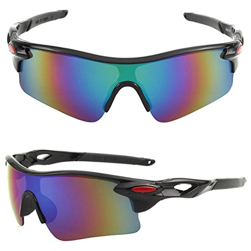 a2f8a1cfbb5 Auwer Men s Polarized Sports Sunglasses UV400 Protection Cycling Glasses  Eyewear Outdoor Bicycle Sunglasses ...