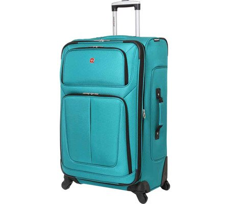 swissgear-29-inch-spinner-luggage-teal-softide-upright-travel-gear-luggage-swissgear-luggage