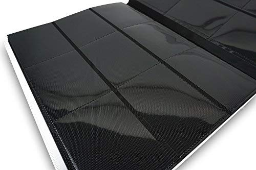 Vault X Binder - 9 Pocket Trading Card Album Folder - 360 Side Loading Pocket Binder for TCG (White)