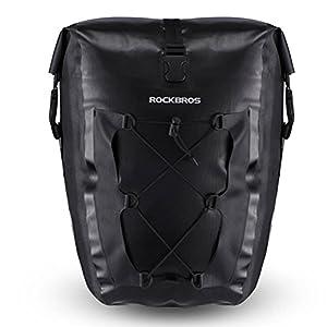 RockBros Waterproof Bicycle Rear Seat Trunk Bag Multifunctional Road Mountain Bike Package Pack Pannier