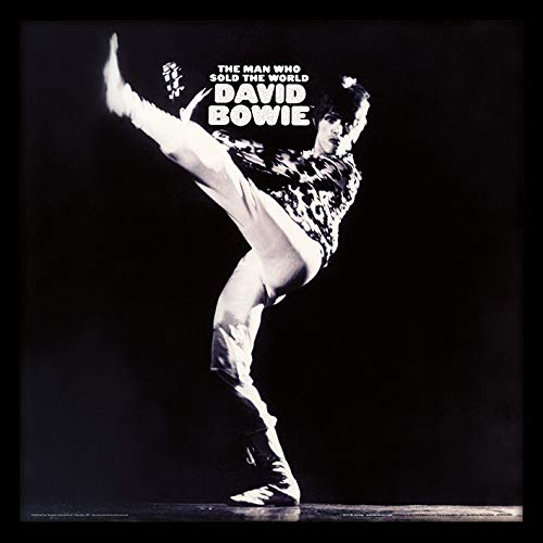 David Bowie The Man Who Sold The World Kick Framed Classic Album Sleeve ()
