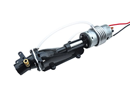 NQD 757-6024 RC Boat Turbo JET Part with Motor and Water Cooling System ()