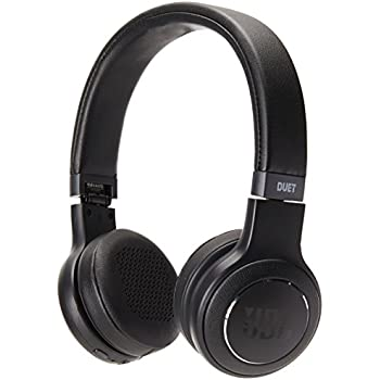 JBL Duet Bluetooth Wireless On-Ear Headphones - Black