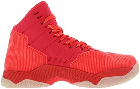 UNDER ARMOUR Kids Curry 2.5 Basketball Shoes red //wht  1274062-984
