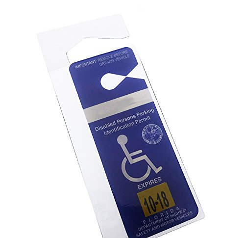 Clear Handicap Parking Placard