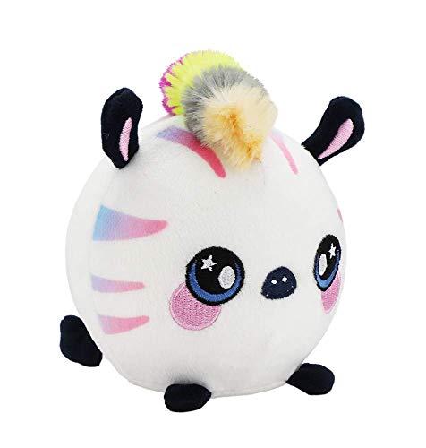Squeezamals, Zachry Zebra - 3.5 Super-Squishy Foam Stuffed Animal! Squishy, Squeezable, Cute, Soft, Adorable!