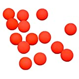Gracefulvara 100pcs Fishing Floating Bobbers Drift Ball, Foam Indicator Fish Accessories