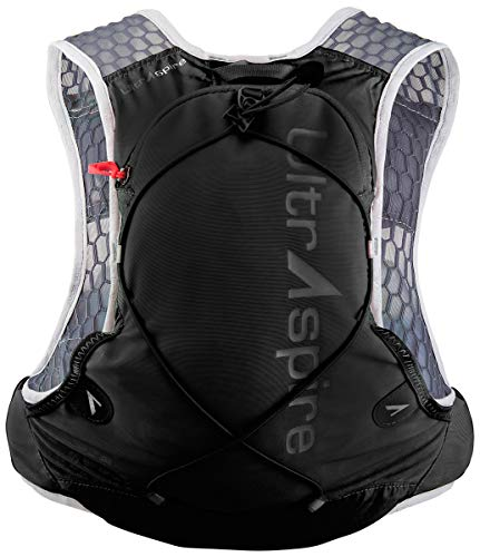 Ultraspire Alpha 3.0 Hydration Pack Fluid Capacity up to 3 Liter 2 BPA PVC Free Bottles Included Capacity to Hold 2L Reservoir
