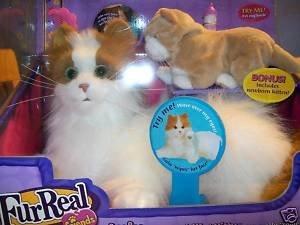 Amazon.com: FurReal Friends Lulu My Cuddlin Kitty Cat with