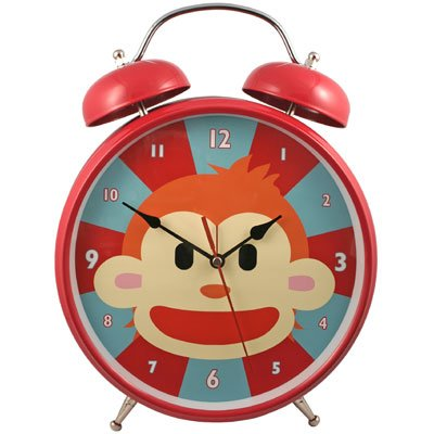Monkey Talking Alarm Clock II 5'' by Streamline Inc by Streamline