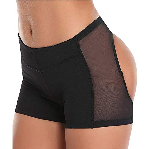 b03ae67ad1 JITIFI Women s Body Shaper Booty Butt Lifter Enhancer Body Shorts Seamless  Panty