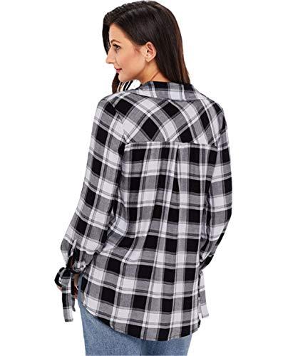 shirts Femmes Shirt Cxq Décontractés White t Black Pour T wxRqgv