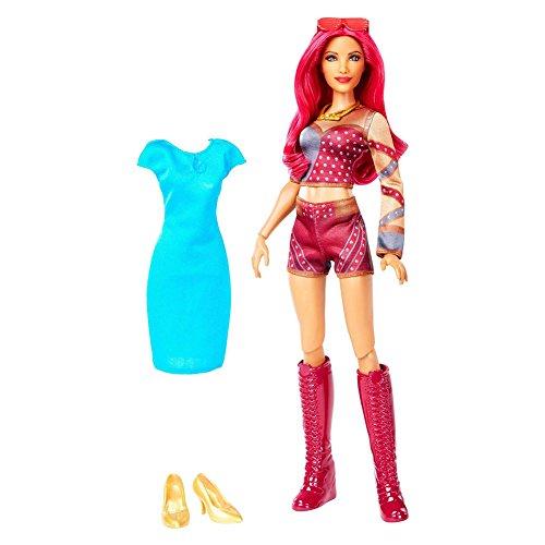 WWE Superstars Sasha Banks Doll & Fashion Action Figure