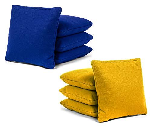 (Tailgating Pros Cornhole Bags - 8 Regulation Size Corn Hole Bags - 25+ Colors)