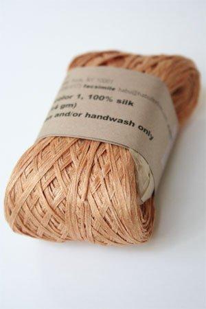 Amazon com: Habu Silk Ribbon Yarn (1-orange)