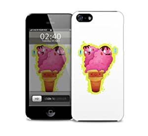 Ice Cream Cone iPhone 5 / 5S protective case by lolosakes