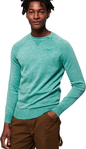 Teint Vêtement Superdry Turquoise Homme Sweatshirt La Bleu w755Ex1qf