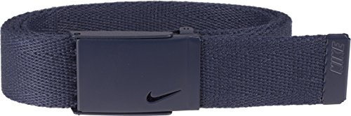 Ladies Golf Apparel Accessories - Nike Women's Tech Essential Single Web Belt, College Navy, One Size