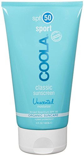 Coola Classic Sport SPF 45 Sunscreen, Unscented, 5 Ounce