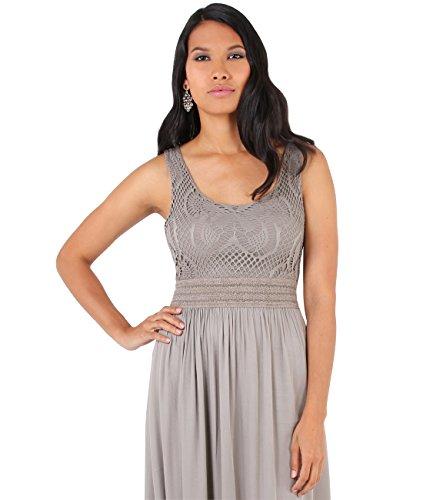 Maxi Beach Dress (Size UK/US Small-Medium), Mocha (7091)
