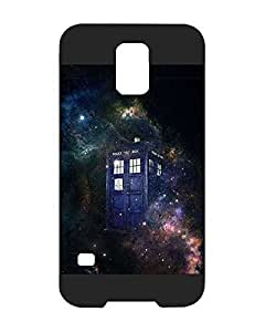Back Fundas Case Ultra Thin Samsung Galaxy S5 i9600 Fundas Case Cover TV Doctor Who Tardis for Galaxy S5